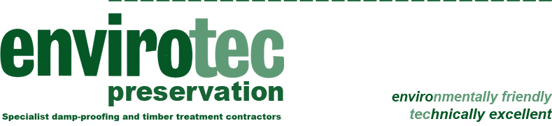 Envirotec: Specialist damp-proofing and timber treatment contractors